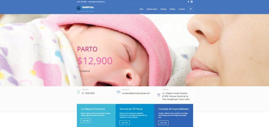Estrena Hospital Centra nuevo portal web